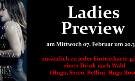 LADIES PREVIEW Fifty Shades of Grey KINO Saulgau