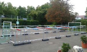 XXL Menschenkicker, Human Table Soccer, Riesenkicker