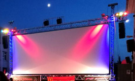 Ein Highlight im August: Das Open Air Kino